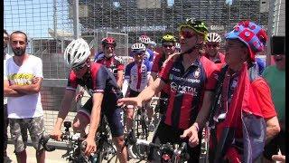 Il sogno Davide Nicola in bici verso Torino: Il film