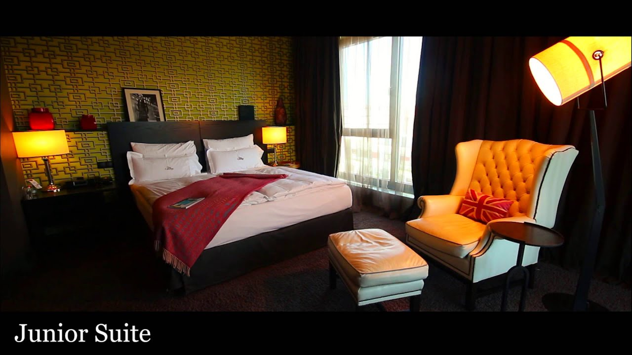 The george hotel hamburg the junior suite youtube for Suite hotel hamburg