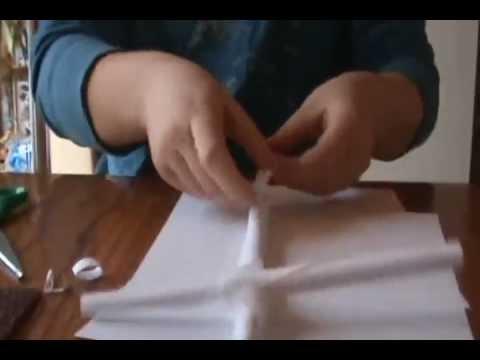 Как сделать бумаги пистолет