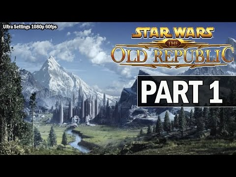 Star Wars: The Old Republic Walkthrough Part 1 Jedi - Let's Play Gameplay (1080p 60fps)