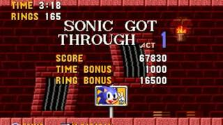 Sonic 1: Burned Edition [Sonic Hacking Contest 2015 Version] (Genesis) - Longplay