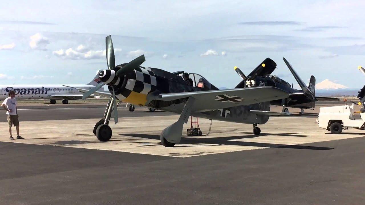 Flugwerk Fw 190 Absturz