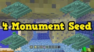 Minecraft Xbox 360 / PS3 - TU54 Seed: 4 Ocean Monuments & Mansion