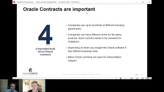 4 reasons why companies struggle to manage Oracle Contracts
