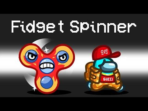 FIDGET SPINNER IMPOSTER Mod in Among Us