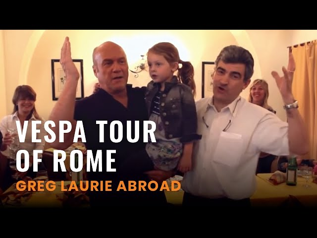 Greg Laurie On A Vespa Tour Of Rome! (Greg Laurie Abroad #7)