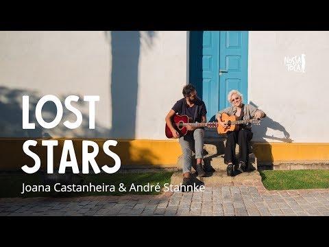 Lost Stars - Adam Levine Joana Castanheira & André Stahnke cover acústico Nossa Toca na Rua