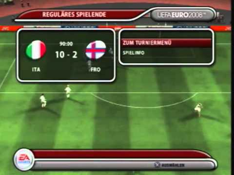 Let´s Play Together UEFA Euro 2008 [PS2/480p] Part 3