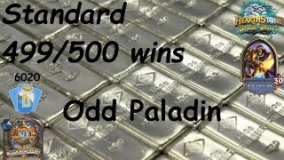 Hearthstone: Odd Paladin Post-Nerf #16: Witchwood (Bosque das Bruxas) - Standard *499 wins*