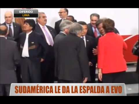 Sudamérica le da la espalda a Evo
