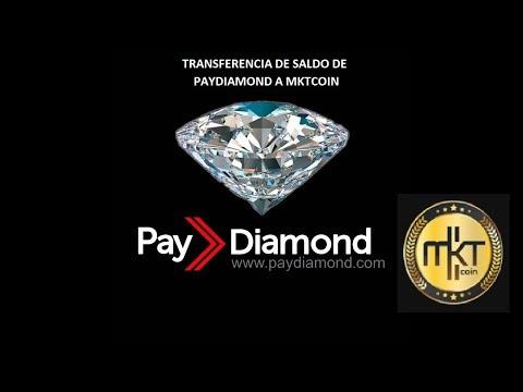 Vídeotutorial de Transferencia de Saldo de Paydiamond a Market Coin