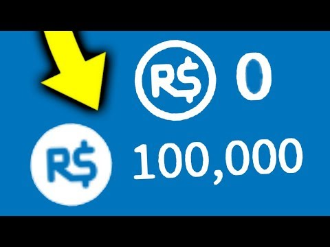 How To Turn 0 Robux Into 100,000 On Roblox