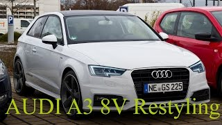 photoshop cs6 audi a3 8v restyling front facelifted 2016 psa