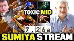 SUMIYA Mid Super Toxic Techies Challenge in 7.26a | Sumiya Invoker Stream Moment #1425