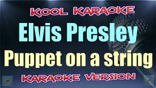 Elvis Presley - Puppet on a string (Karaoke version) VT