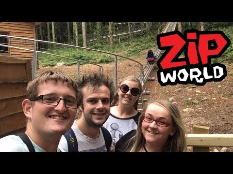 Zip World Fforest Coaster & Llandudno Toboggan Vlog July 201