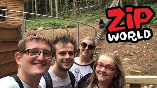 Zip World Fforest Coaster & Llandudno Toboggan Vlog July 2017