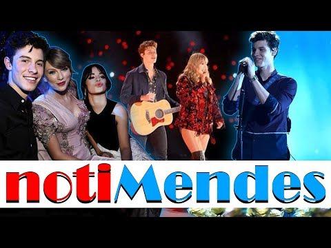 Shawn Mendes en concierto con Taylor Swift...