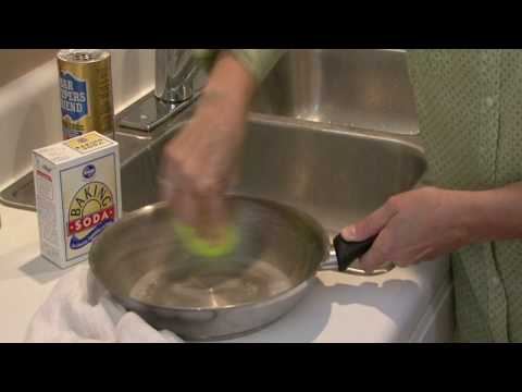 Cleaning Kitchens : How to Clean Pots & Pans Without Soap