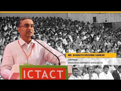 Bharath Krishna Sankar   Aparajitha Corporate Services Ltd   ICTACT Youth Summit