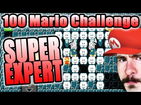 SO MANY SPEED RUNS ~ Super Mario Maker [100 MARIO SUPER EXPERT]