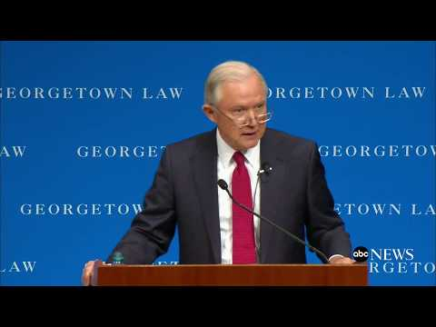 Attorney General Jeff Sessions remarks on free speech on college campuses