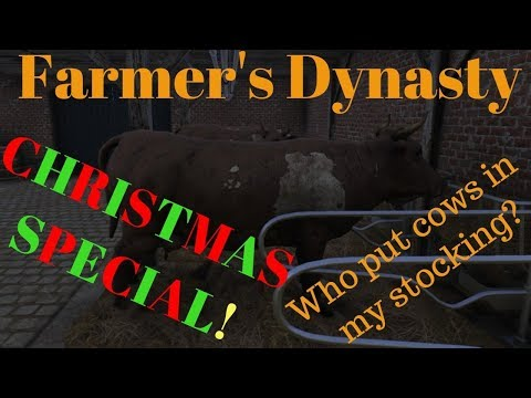 Farmers Dynasty #7 MERRY CHRISTMAS and HAPPY HOLIDAYS!  Christmas Special!