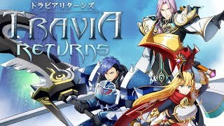 Travia returns トラビアリターンズ android game first look gameplay español