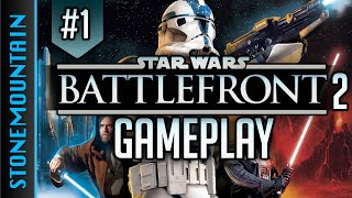 Star Wars Battlefront 2 Multiplayer Gameplay-  All Classes & How to Play (Road to Battlefront 3) #1