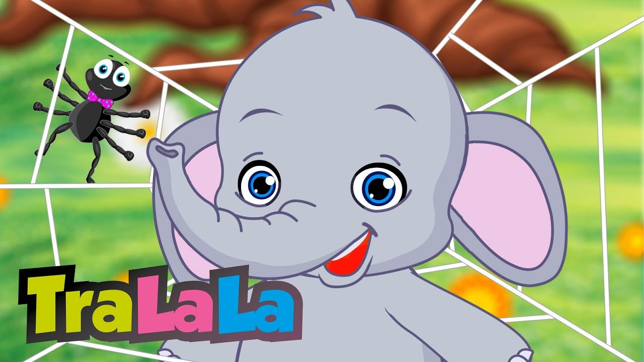 Un elefant se legăna - Cântece pentru copii   TraLaLa