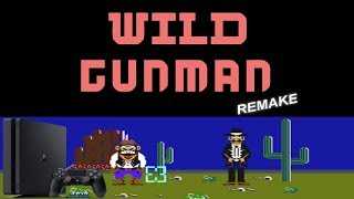 Wild Gunman Remake by Lapy (PS4 Homebrew)