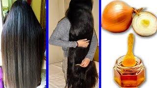 Как вырастить длинные и густые волосы с луком и мёдом Сверхбыстрое решение проблемы роста волос