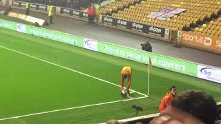 WHAT A GOAL!!! Ruben Neves - Take a bow!!!! Unbelievable goal! Wolves v Derby  (11/04/18)