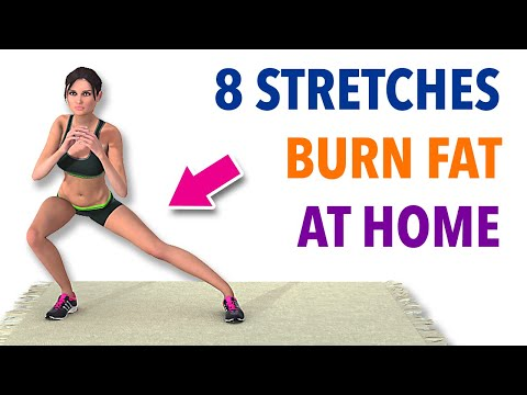 8 Stretches You Can Do At Home To Burn Fat