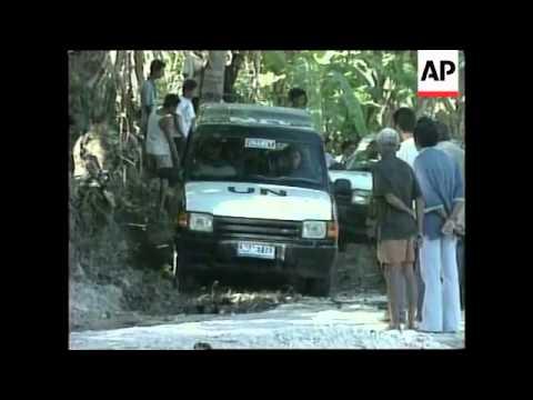 EAST TIMOR: UN PEACEKEEPING MISSION: GURKHAS