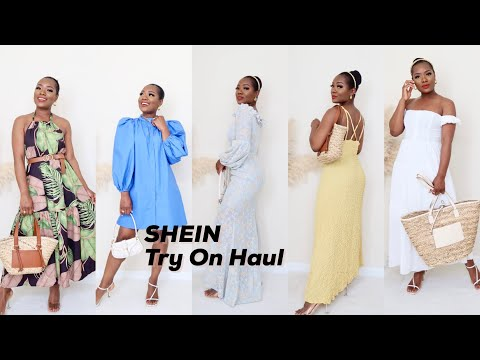 SHEIN TRY-ON HAUL | SPRING \u0026 SUMMER LOOKS *New At SHEIN