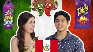 PERUANOS PROBANDO DULCES MEXICANOS l DesbalanceAdos
