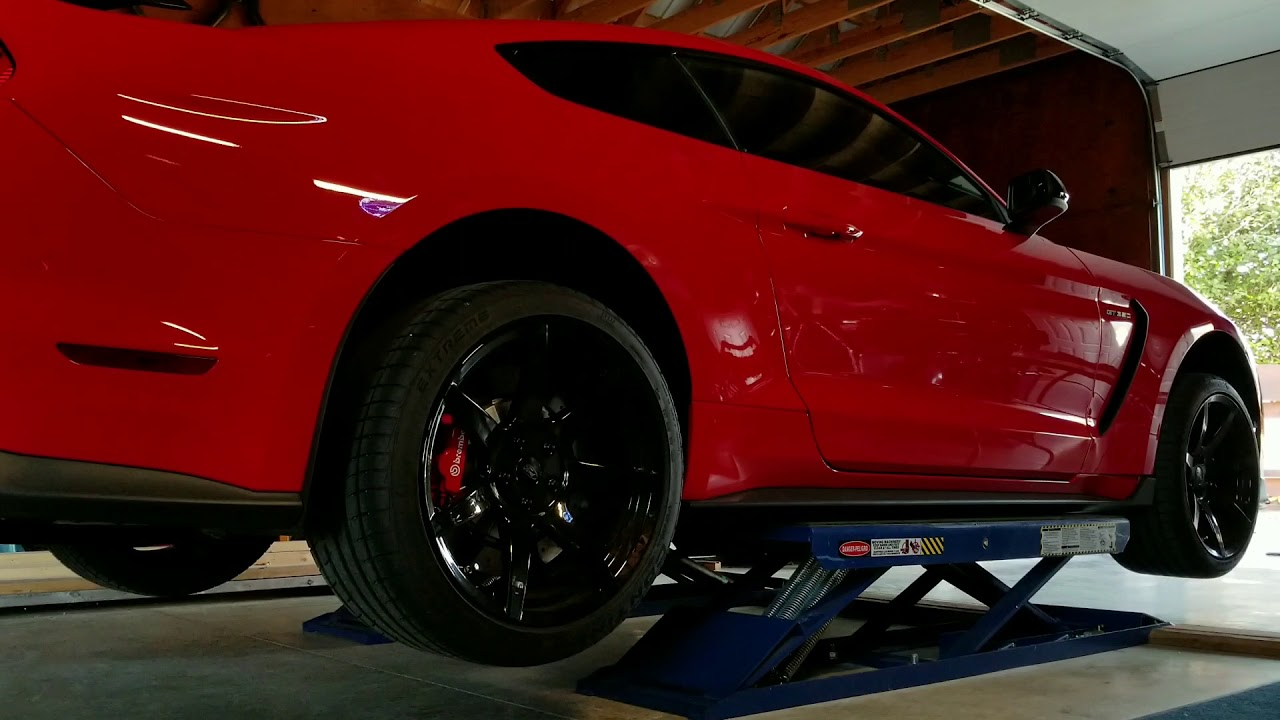GT350 & Two post lift | 2015+ S550 Mustang Forum (GT, EcoBoost