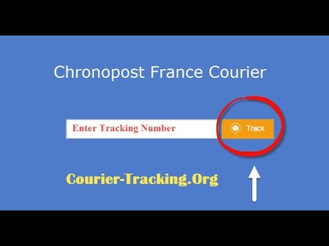 Chronopost France Courier Tracking Guide