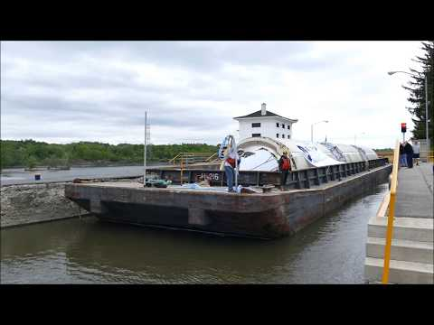 Genessee Beer Barge On The Erie Canal 5/22/2017