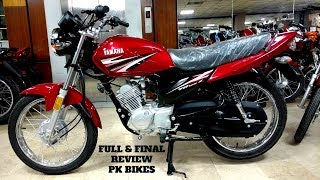 YAMAHA YB125Z TOP SPEED FULL & FINAL REVIEW ON PK BIKES