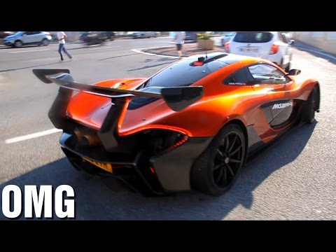 McLaren P1 GTR Road Legal SOUND in the hills!