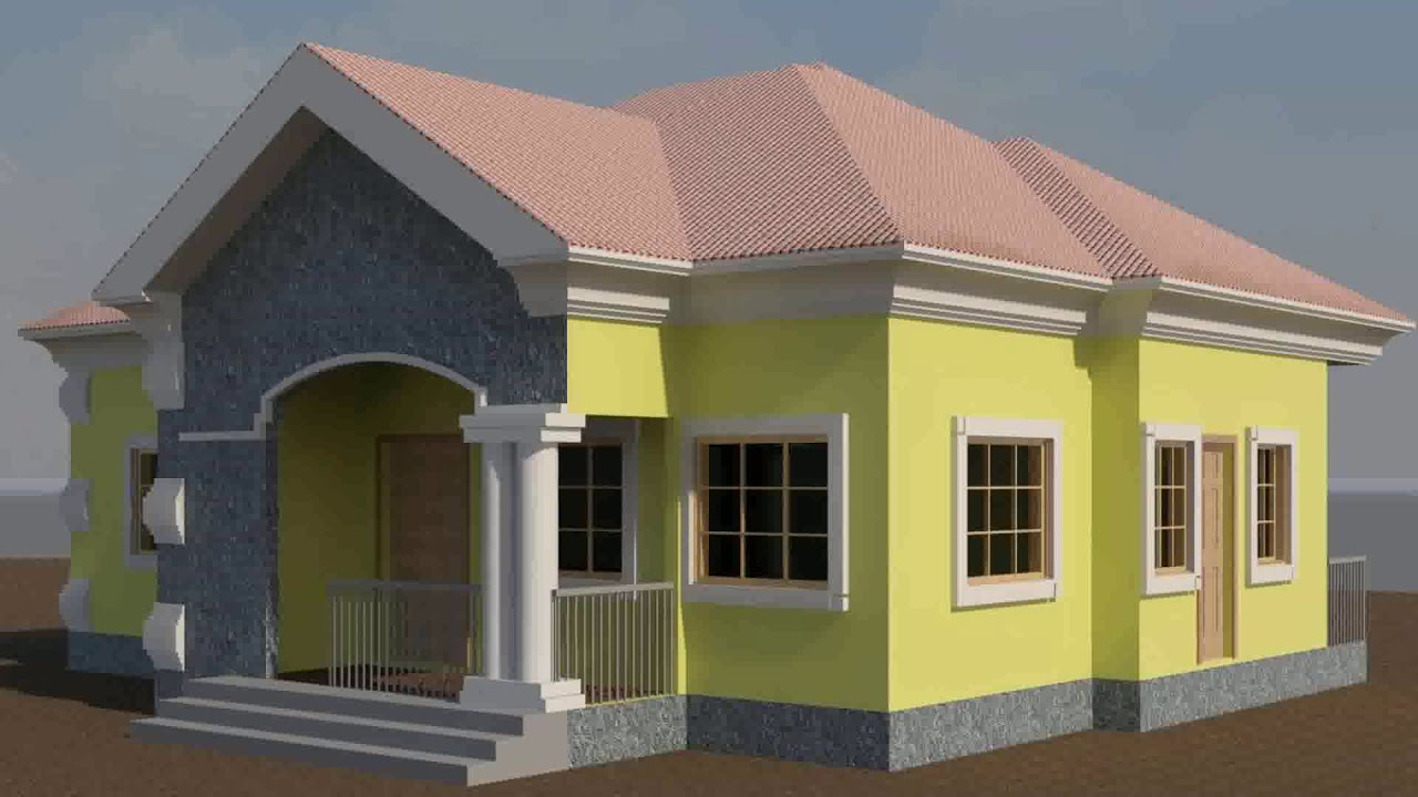 2 Bedroom House Plans Nigeria See Description Youtube