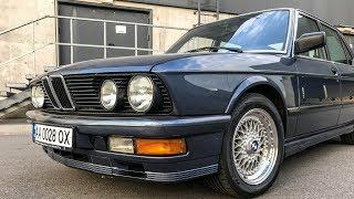 Таких BMW уже не делают: 535i E28 акула в M-пакете