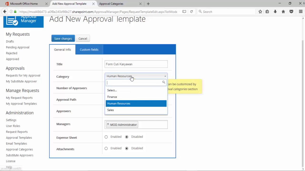 Microsoft Cloud – Approval Workflow on Sharepoint Online by Yonathan ...