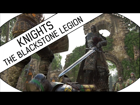 CHAPTER 1.3 - THE BLACKSTONE LEGION - KNIGHTS CAMPAIGN - Let's Play For Honor (Realistic)! - 동영상