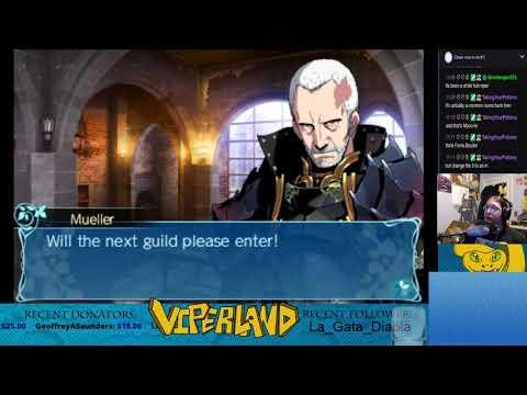 Etrian Odyssey Nexus  - Part 1 - Release day stream