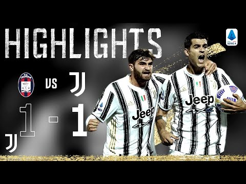 Crotone 1-1 Juventus | Morata Equalises for Juventus! | Serie A Highlights