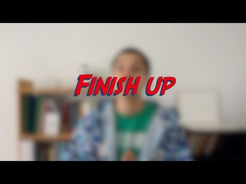Finish up - W51D3 - Daily Phrasal Verbs - Learn English online free video lessons