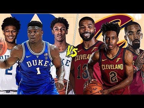Can Duke Beat The Cleveland Cavaliers? | NBA 2K19 |
